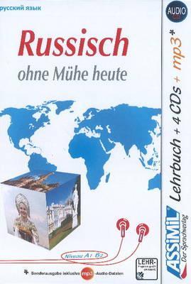 Russisch ohne Mühe heute. Con CD-ROM formato MP3. Con 4 CD-Audio