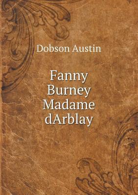 Fanny Burney Madame Darblay