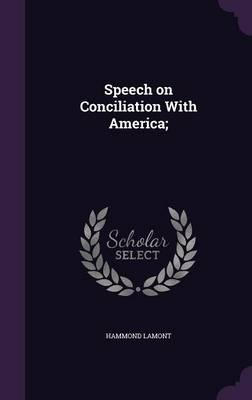 Speech on Conciliation with America;