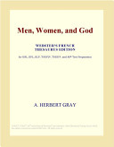 Men, Women, and God (Webster's French Thesaurus Edition)