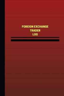 Foreign Exchange Trader Red Cover, Medium Logbook
