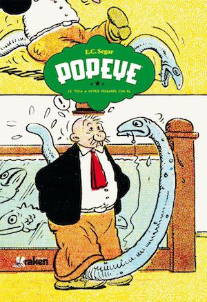 Popeye: ¡Le toca a usted pelearse con él!