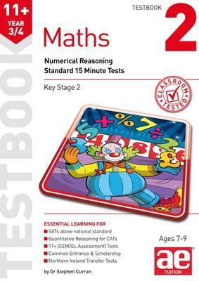 11+ Maths Year 3/4 Testbook 2