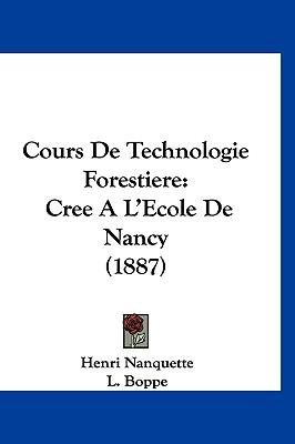 Cours de Technologie Forestiere