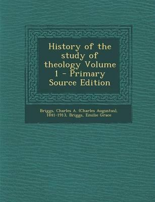 History of the Study...