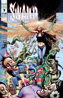 Swamp Thing di Brian K. Vaughan n. 7