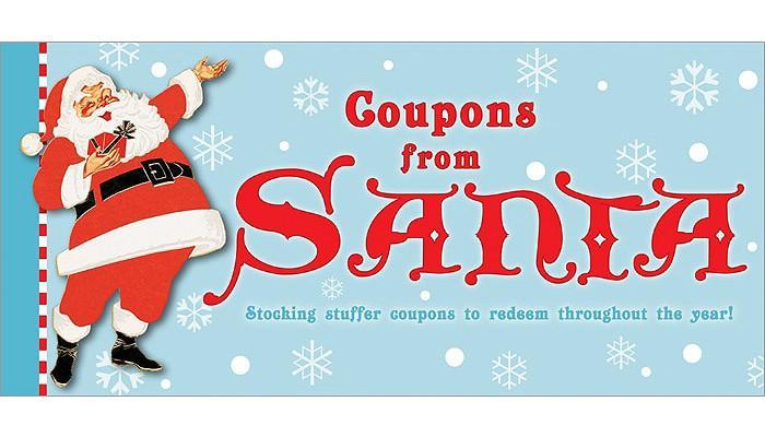Coupons from Santa