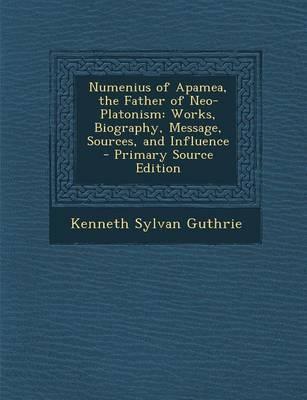Numenius of Apamea, ...