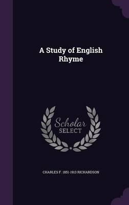 A Study of English Rhyme