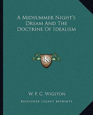 A Midsummer Night's Dream and the Doctrine of Idealism