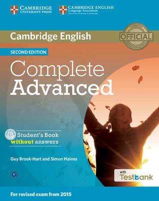 Complete Advanced. Student's Book without answers. Con CD-ROM