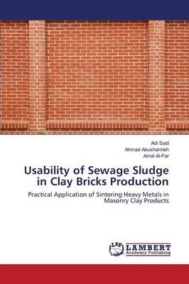 Usability of Sewage Sludge in Clay Bricks Production