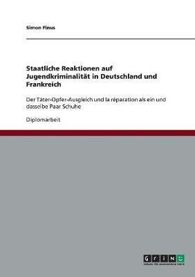 Staatliche Reaktionen auf Jugendkriminalität in Deutschland und Frankreich