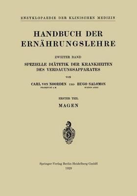 Handbuch Der Ernähr...