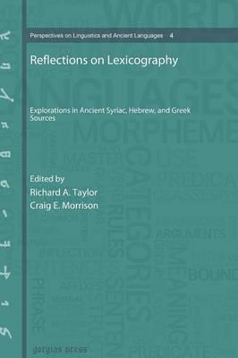 Reflections on Lexicography