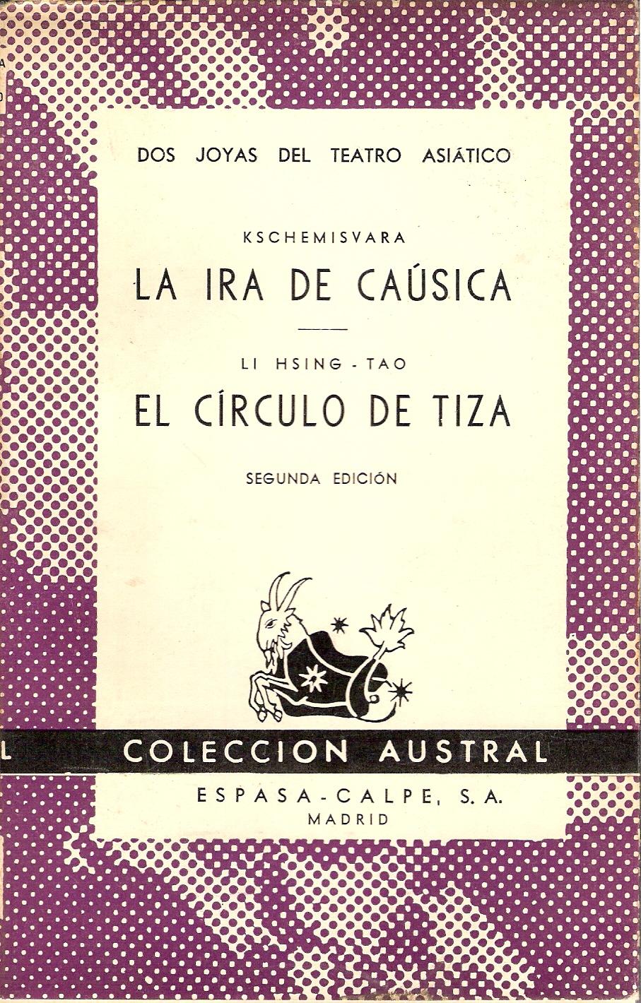 La ira de Caúsica - El círculo de tiza