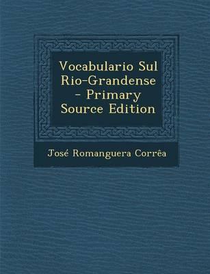 Vocabulario Sul Rio-Grandense