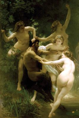 Nymphs and Satyr by ...