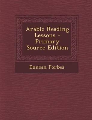 Arabic Reading Lesso...