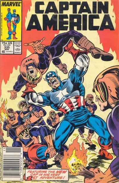 Captain America Vol.1 #335