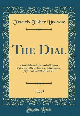 The Dial, Vol. 39