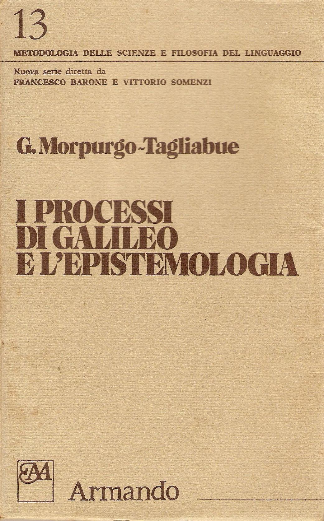 I processi di Galileo e l'epistemologia