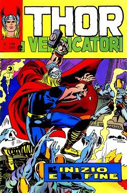 Thor e i Vendicatori (Il Mitico Thor) n. 138