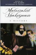 Materialist Shakespeare