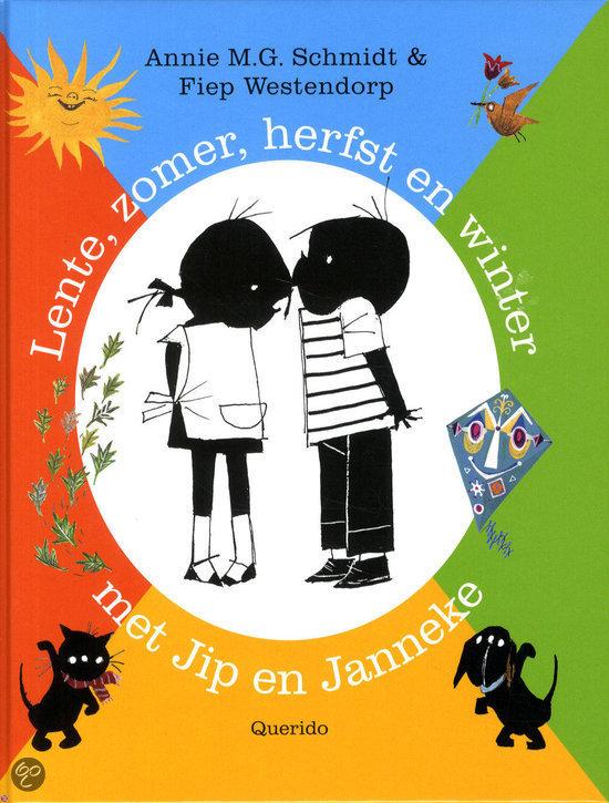Lente, zomer, herfst en winter met Jip en Janneke
