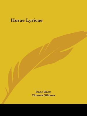 Horae Lyricae 1834