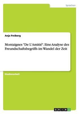 Montaignes De L'Amit...