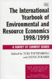 The International Yearbook of Environmental and Resource Economics 1998-1990