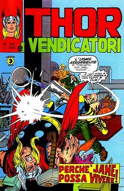 Thor e i Vendicatori (Il Mitico Thor) n. 153