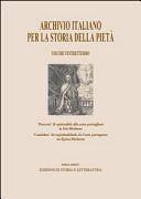 Archivio italiano per la storia della pietà, XVII