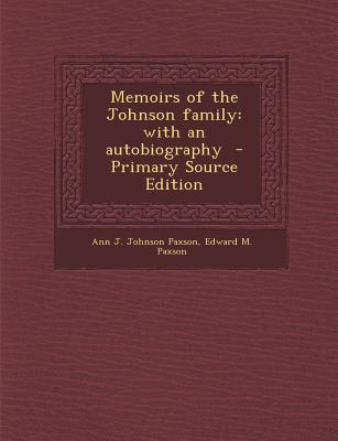 Memoirs of the Johnson Family