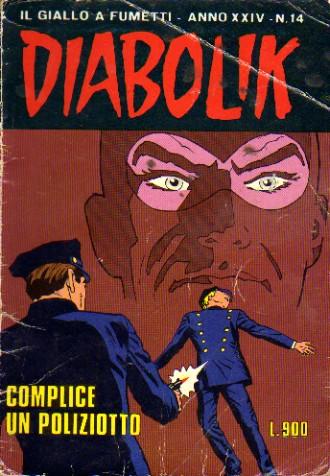 Diabolik anno XXIV n. 14