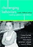 Challenging Behaviors in Early Childhood Settings