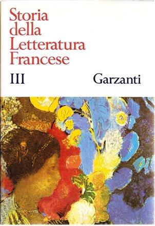 Storia della Letteratura Francese III