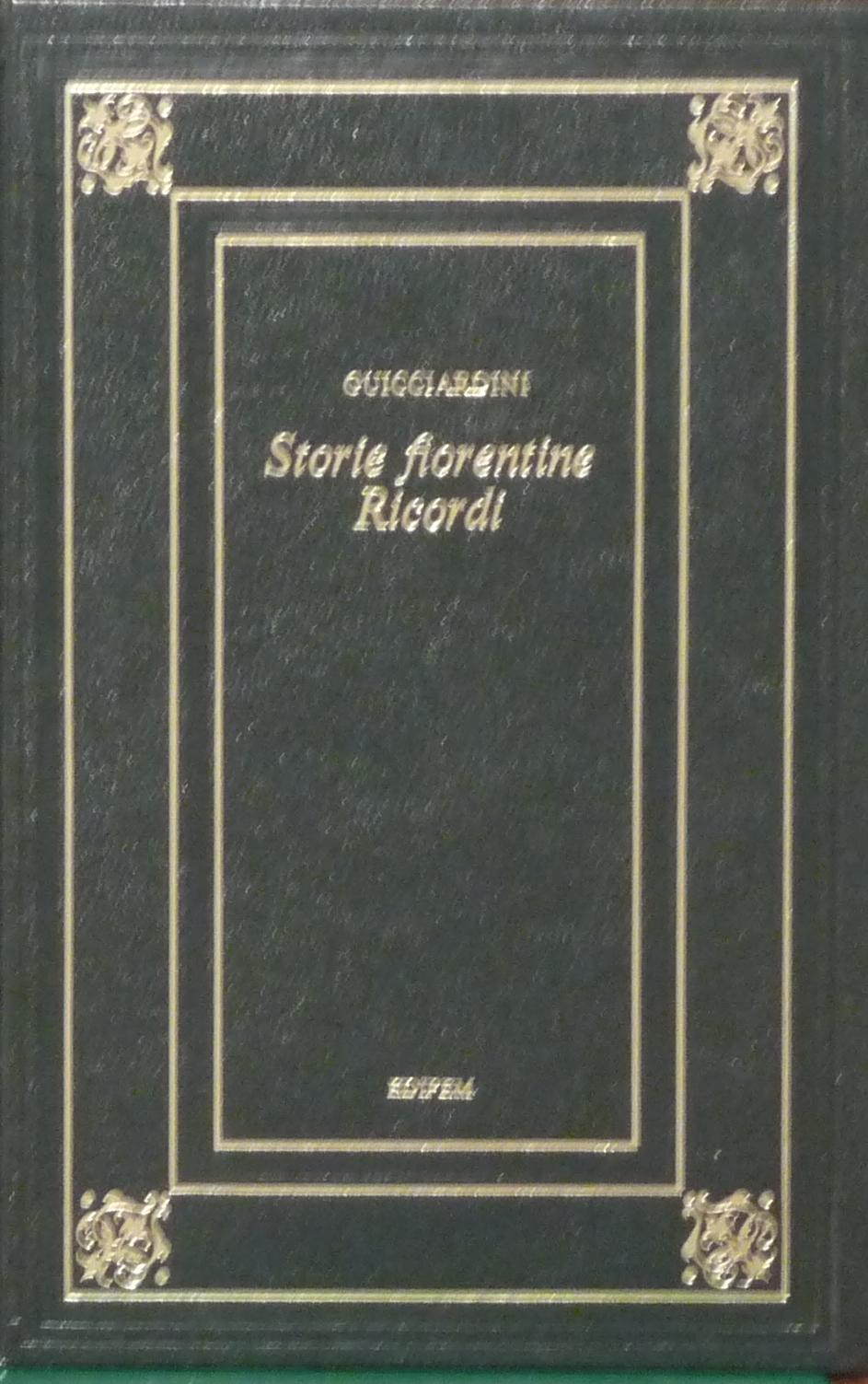 Storie fiorentine - Ricordi