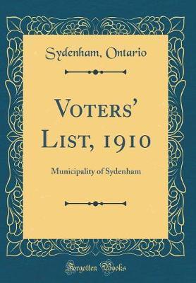 Voters' List, 1910