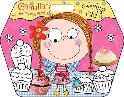 Camilla the Cupcake Fairy Coloring Pad