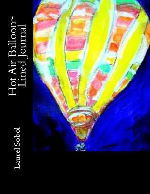 Hot Air Balloon Lined Journal