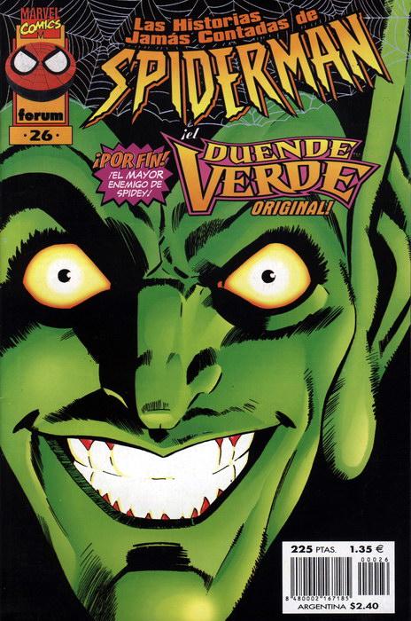 Las historias jamás contadas de Spider-Man #26 (de 26)