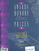 Awards Honors and Prizes 1999