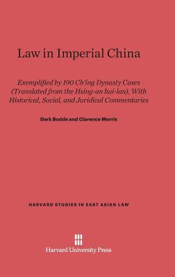 Law in Imperial China