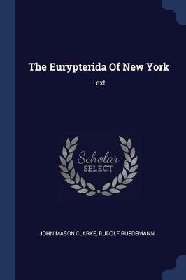 The Eurypterida of New York