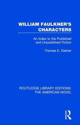 William Faulkner's Characters