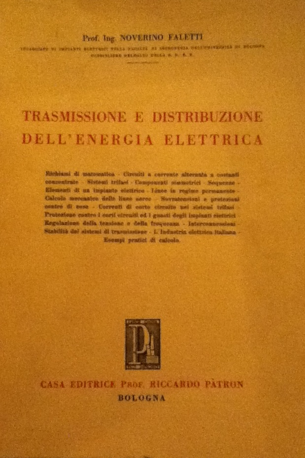Trasmissione e distribuzione dell'energia elettrica