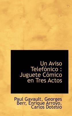 Un Aviso Telef Nico