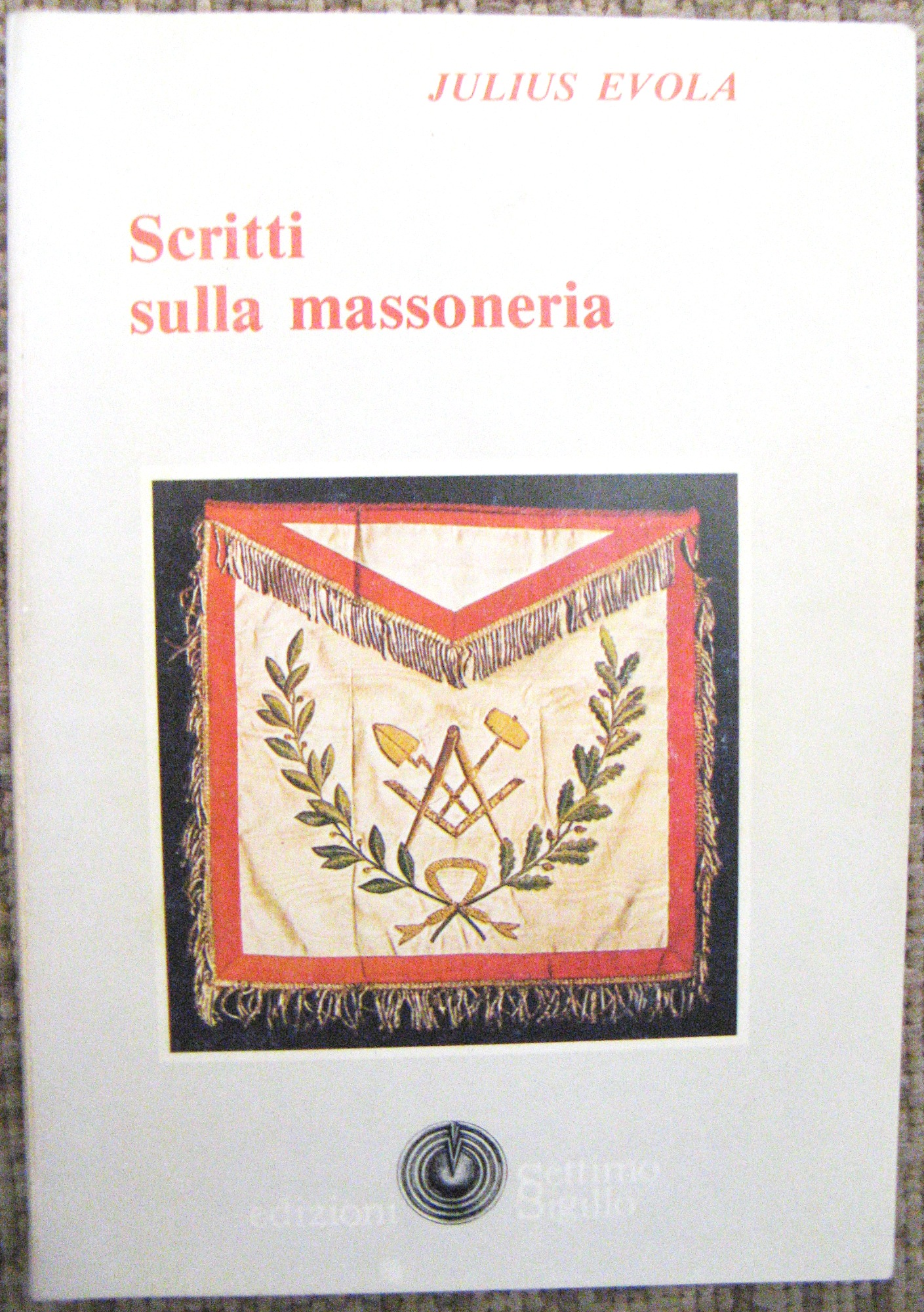 Resultado de imagen de julius evola scritti sulla masoneria